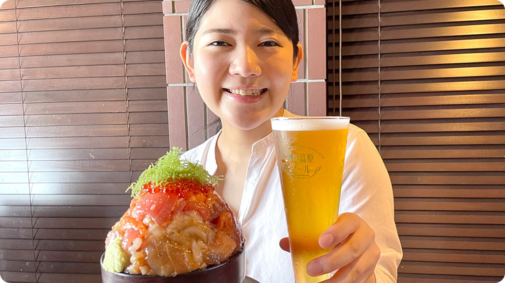 料理に最高にマッチする伊豆高原ビールを!
