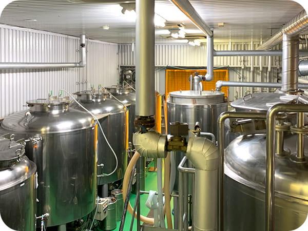 伊豆高原ビール 醸造所