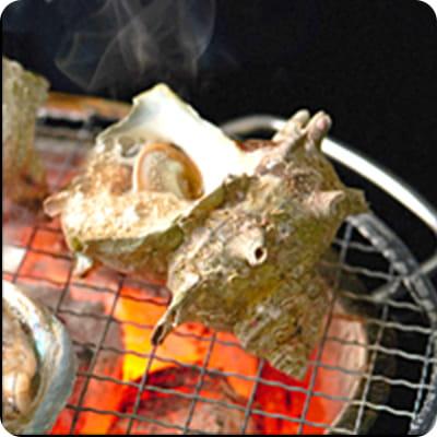 伊豆最安値 サザエの壺焼き